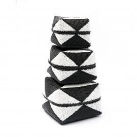 Beaded Basket - Diamond
