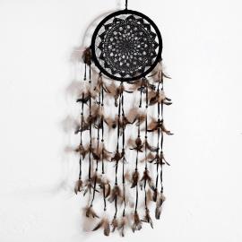 Dreamcatcher Single-Crochet Black