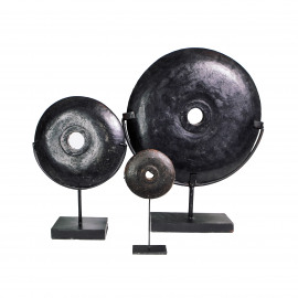 Black River Stone on Stand