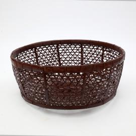 Basket Rotan Chocolat