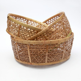 Basket Rotan Set/3 Natural