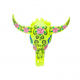 Buffalo Head Resin Flower-Fluo Yellow
