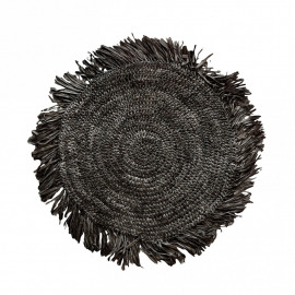 The Fringe Raffia Placemat - Round