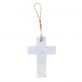 Hanging Cross Marble M