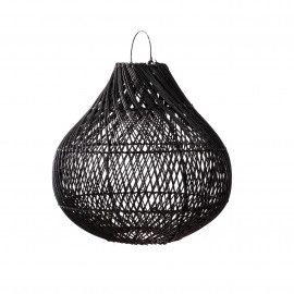 Hanglamp Bottle Black M