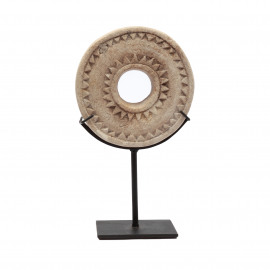Stone Wheel on Stand