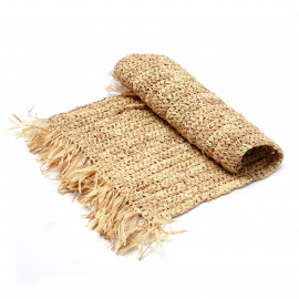 The Fringe Raffia Table Runner
