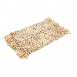 The Fringe Raffia Placemat - Rectangular