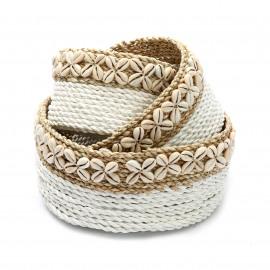 The White Sunday Baskets Set/3