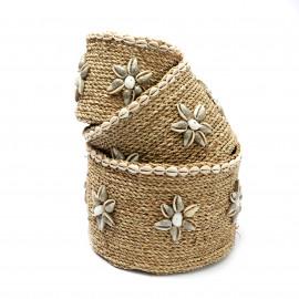 The Beach View Baskets Set/3