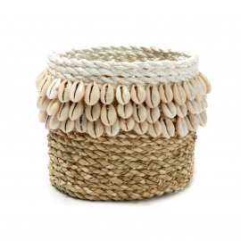 The Weaved Cowrie Basket #1