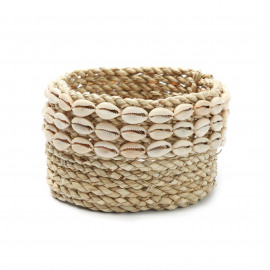 The Weaved Cowrie Basket #2