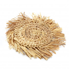 The Fringe Raffia Coaster