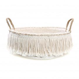 The Boho Fringe Basket