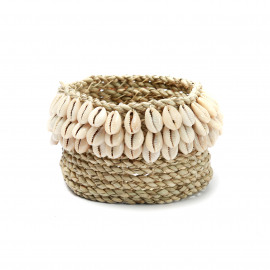 The Weaved Cowrie Basket #3