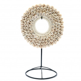 The Small Cowrie Disc on Stand