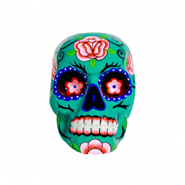 Mexican Sugar Skull - Turquoise