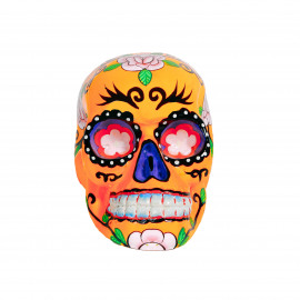 Mexican Sugar Skull - Orange