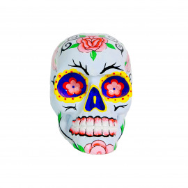 Mexican Sugar Skull - White
