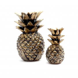 Pineapple Black-Gold