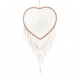Dreamcatcher Crochet-Heart L
