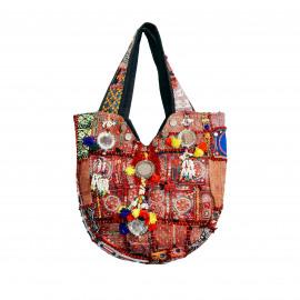 Vintage handgemaakte Banjara tas uit India