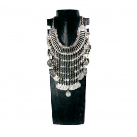 Indian Banjara Necklace with Silver Coins