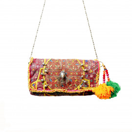 Indian Vintage Banjara Clutch