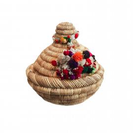 Basket Tajine with Indian Tassel