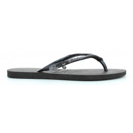 Slim Metal Mesh Dames Strandslipper2