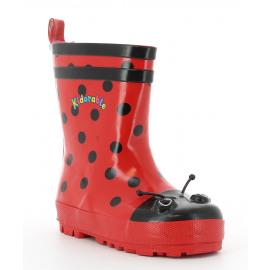 Ladybug Kinder Regen 3/4 Laars