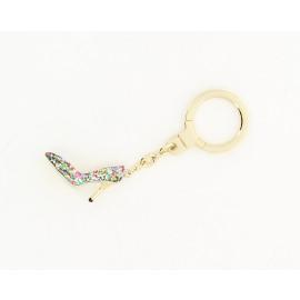 Glitter Shoe Keychain Dames Sleutelhanger