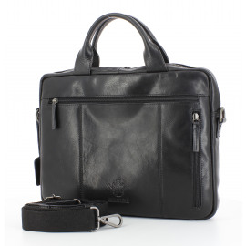 Briefcase with Zipper Heren Documententas