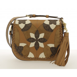 Brooklyn Med Saddlebag Flower PW Dames