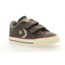 Star Player EV 2V Lther Jongens Sneaker Lowcut