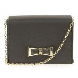 Satin Geo Bow Evening Bag Dames Enveloppe Tas
