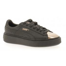 Basket Platform Metallic Dames Sneaker Lowcut