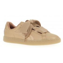Basket Heart Copper Dames Sneaker Lowcut