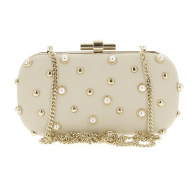 Alabama Minaudiere Pearls Dames Enveloppe Tas