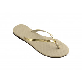 You Metallic Dames Strandslipper2