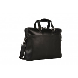 Briefcase with zipper 1 comp Heren Documententas