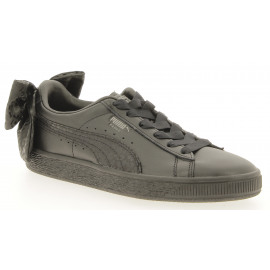 Basket Bow Leather Animal FS/Bow Dames Sneaker Lowcut