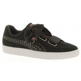 Suede Heart Uprising Wn's Dames Sneaker Lowcut