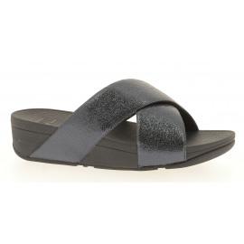 Lulu Molten Metal Slides Dames Slipper