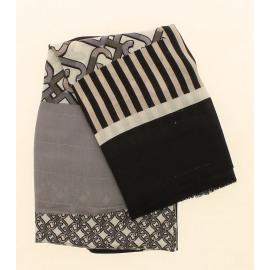 Jacquard Mix Print Dames Sjaal