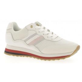 Tommy Corp Retro Sneaker Dames Veterschoen