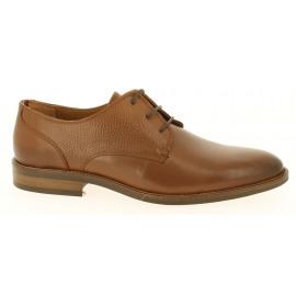 Essential Lthr Mix Shoe Heren Veterschoen
