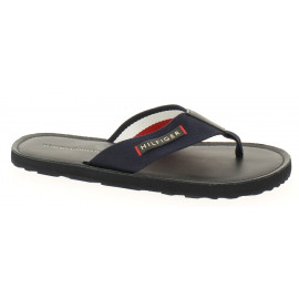 Elevated Lthr Beach Sandal Heren Strandslipper