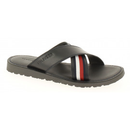 Criss Cross Lthr Sandal Heren Strandslipper