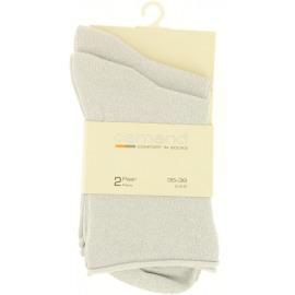 Pearl Sock Lurex 2p Dames Kuitsok